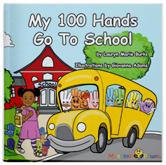 My 100 Hands Go To School Book
